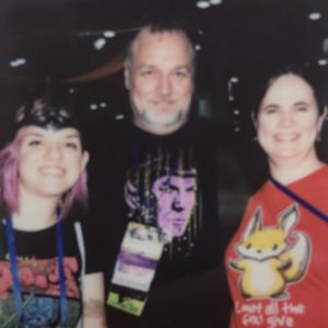 Brooke Johnson, with me and my wife Laura.