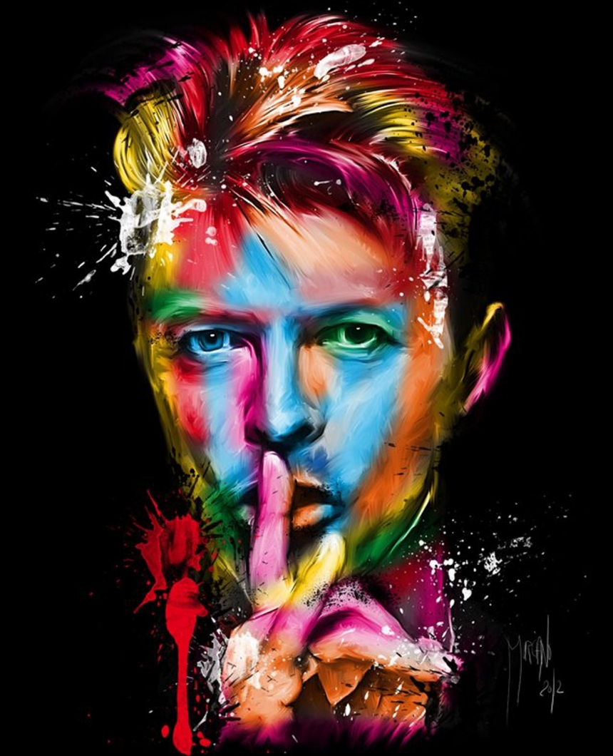 David Bowie by Patrice Murciano