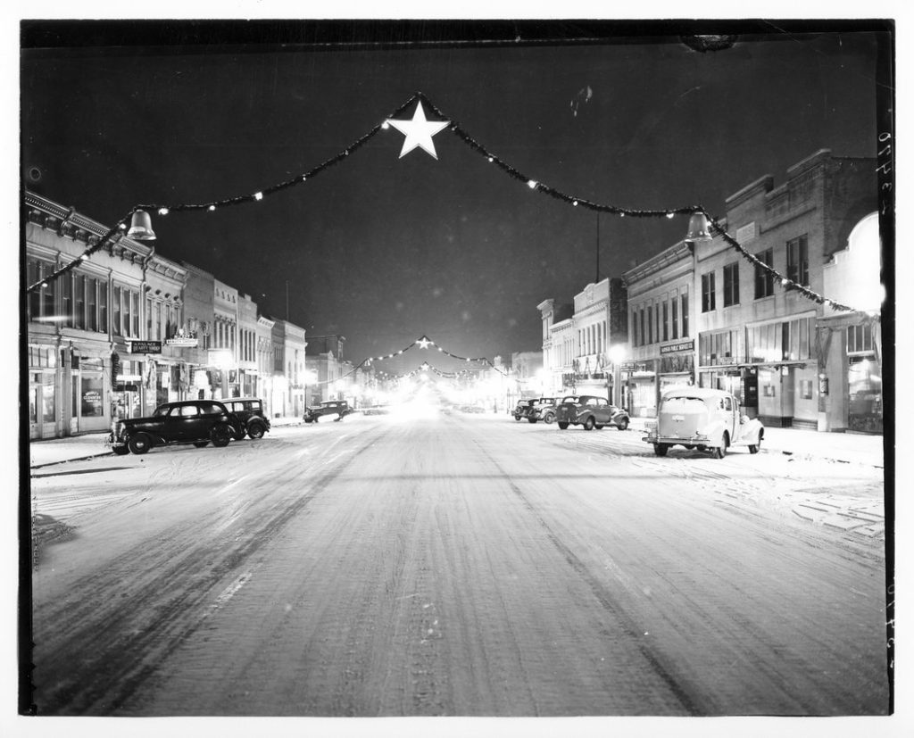 Christmas, 1939, in Lawrence, Kansas